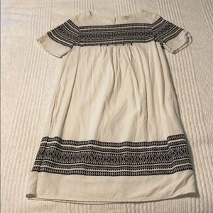 Madewell short sleeved dress